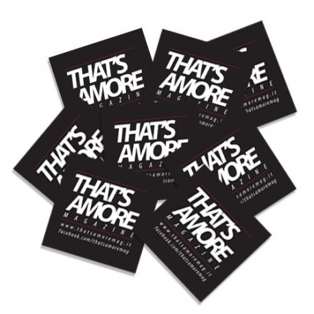 That's Amore Magazine Stickers (25 pz.)